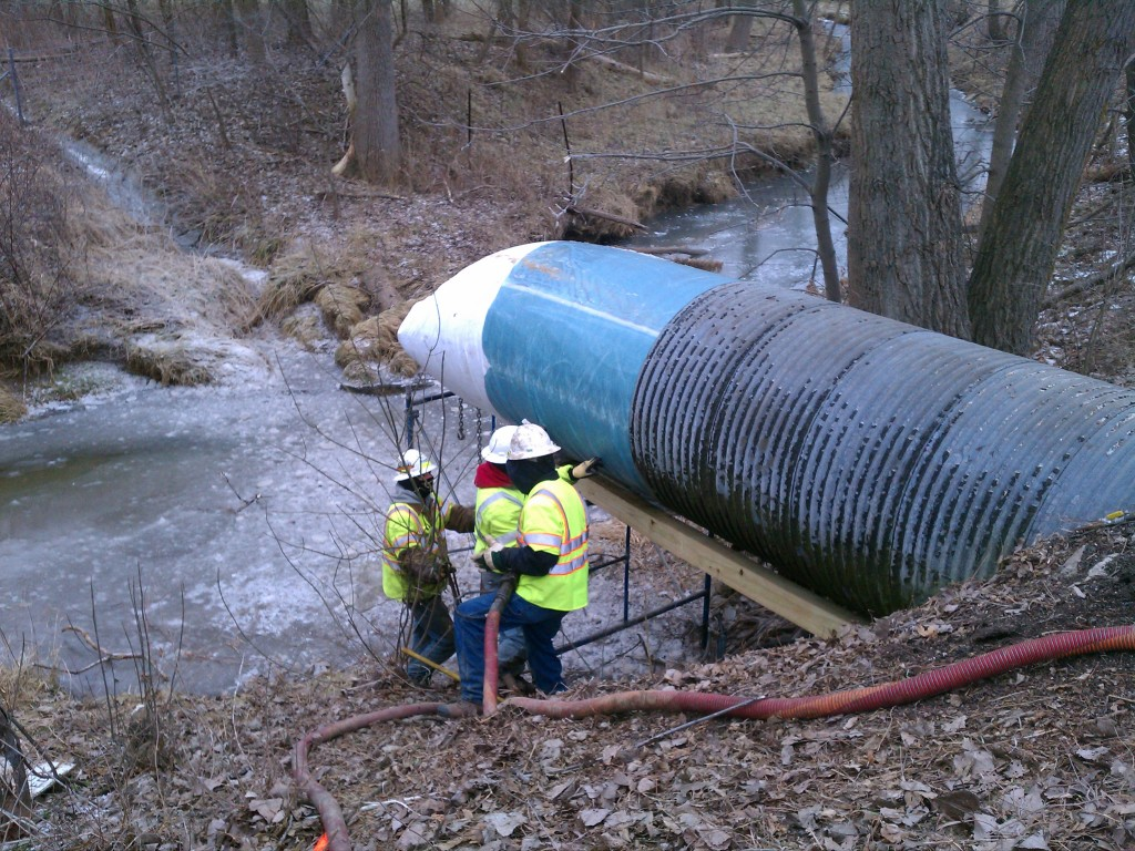 Midwest trenchless services rehabilitation